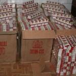 Contrabandist de ţigări, prins la Târgu Neamţ