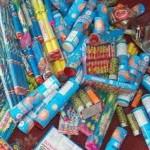 Peste 4.500 de petarde confiscate