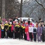 Atletism: Cros pe teren îngheţat