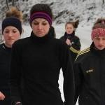 Atletism: De pe tartan, în noroi
