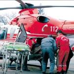 Elicopter pentru salvarea unui bătrân