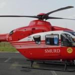 Bărbatul lovit de maşină dus cu elicopterul la Iaşi