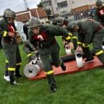 Competiţia anuală a pompierilor voluntari