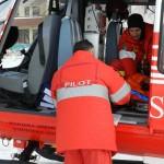 Cardiac dus la Iaşi cu elicopterul