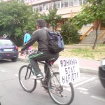 protest bicicleta