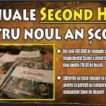 Manuale second hand pentru noul an școlar