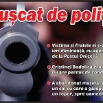 Împușcat de polițiști