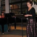 Primul concert de canto din această stagiune