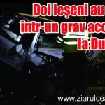 Doi ieşeni au murit într-un grav accident la Dulceşti