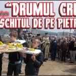 """(FOTO) """"Drumul Crucii"""" spre Schitul de pe Pietricica"""