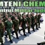 Nemţeni chemaţi de Centru Militar Judetean