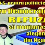 S.O.S. pentru politicieni  Pro Democraţia refuză să monitorizeze alegerile din Neamţ