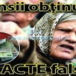 Pensii obţinute cu acte false!