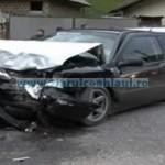 Accident grav la Poiana Teiului