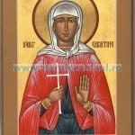 24 iulie, pomnirea Sfintei Muceniţe Hristina (Cristina), cea mult pătimitoare