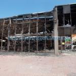 Cauza incendiului de la piaţă, scurtcircuit