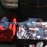 Contrabandist prins cu 800 pachete de ţigări la Târgu Neamţ