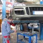 Muncă riscantă în service-urile auto