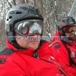 Zăpada a închis accesul pe Ceahlău
