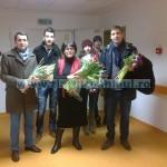 PSD-istele au dus flori și cadouri la Spitalul Județean și în câteva comune de pe Valea Muntelui