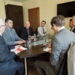 Delegație olandeză, în vizită la Consiliul Județean Neamț