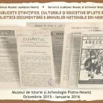 La Muzeul de Istorie,  Expoziție inedită de publicații periodice vechi