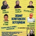 """Întâlnire cu scriitorii botoșăneni, la Biblioteca Județeană """"G.T. Kirileanu"""""""