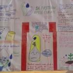 Elevii din Zănești au dezvoltat un proiect pentru protejarea surselor de apă
