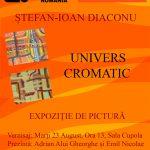 Expoziție de pictură Ștefan-Ioan Diaconu la Biblioteca Județeană