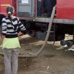 Încă 14.000 litri de apă pentru localnicii din Târzia