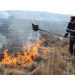 Efect al secetei: incendii periculoase de vegetație uscată