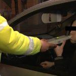 Şofer cu alcoolemie record, în trafic