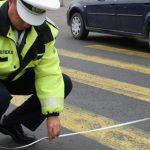 Femeie lovită pe trecerea pentru pietoni de o șoferiță care nu a oprit