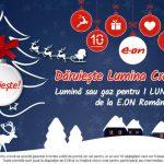 Comunicat de presă  E.ON Energie România a pregătit un dar de Crăciun de 200.000 de kWh
