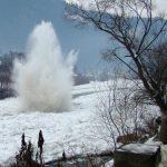 Două zile de explozii pe râul Bistrița
