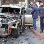 Încă un autoturism incendiat