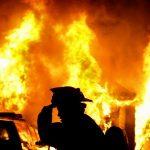 13 tone de paie incendiate de un rău-făcător, în Piatra Neamț