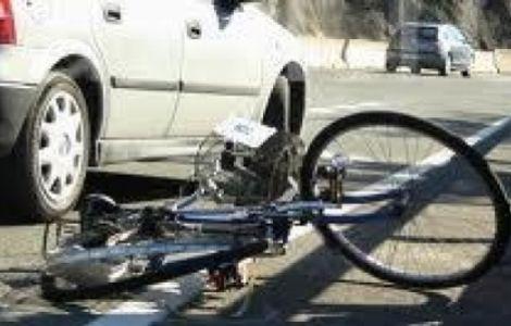 biciclist cazut