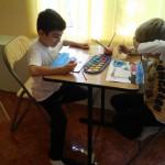 copil pictor