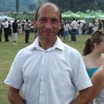Petru Bâia, primar Poiana Teiului iul 2013 054