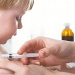 copil vaccinat