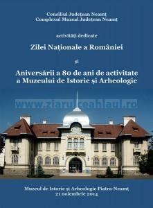 afis-80-de-ani-de-activitate-a-muzeului-de-istorie-si-arheologie-2014