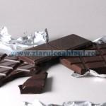 Schwarze Schokolade