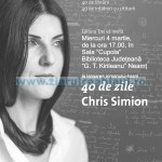 Lansare carte Chris Simion