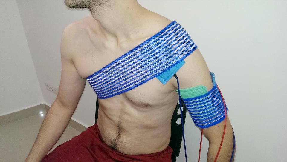 pregătirea pentru blocarea articulației umărului)