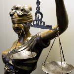 DEN HAAG - Vrouwe justitia. ANP VALERIE KUYPERS